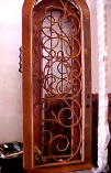 Scrollwork Single Doors
