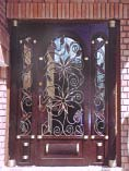 Sunflower Single Iron Door