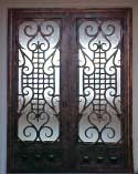 Bronze Iron Doors