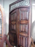 Rustic Iron Doors