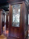 Iron Glass Doors