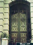 Extra Tall Iron Double Doors