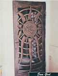 Sun God Iron Doors