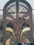 Three Tone New Age Iron Doors