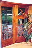 Marsh Bird Double Sculptured Doors
