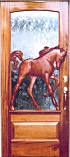 Equine Single Sculptured Doors