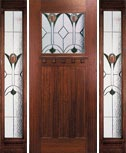 Hunter's Creek Doors - Creekside 2/3 Light