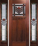 Hunter's Creek Doors - Sterling 3/4 Light