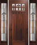 American Craftsman Door