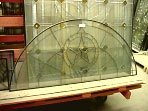 Texas Star beveled Glass Transom