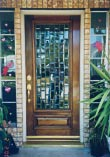 Squares Glass Doors