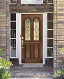 Arched Twin Lite Doors