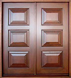 Custom Raised 3-Panel Doors