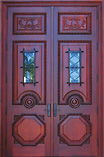 Solid Iron Flourish Doors