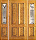 UE-101-PP Four Panel Glass Entry