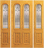 UE-102-A Beveled Double Arch 6 Foot Door