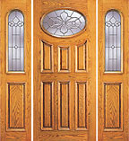 Unique UE-104-A Oval Beveled Door