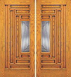 UE-109-A Double Beveled Doors