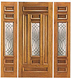 UE-203-A Beveled Center Door