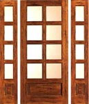 Country French Knotty Alder Door
