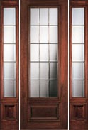 Portobello 15 Light 8' 3/4 Lite French Doors