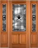 Star Patina Custom Mahogany Entry Doors
