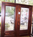 Double Designer Glass Doors