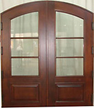 ZG-1178 French Style Glass Double Doors