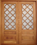 ZGF-2002 French Double Doors