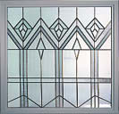 DecoGlass Stained Glass 2 Window