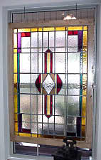 Stained Glass Window, Custom Built