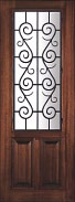 St. Charles Wrought Iron Doors 8 Foot
