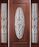 Legacy Colonial Full Oval Door