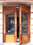 Leaf Arched Sculptured Doors