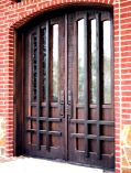 Sculptured Solid Wood Rail Doors