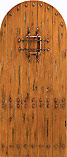 Wood Speakeasy Doors - Plank SW-71